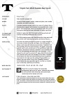 TPH Syrah 2016 bottle