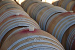 Wine barrels Tinpot Hut Wines