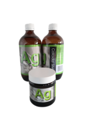 AG Colloidal Silver with Gel (Gift Pack)