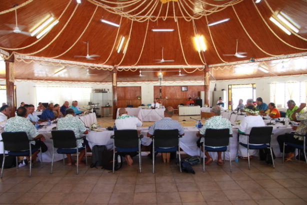 PGNL9085-9th General Fono Session of Tokelau's 9th Government