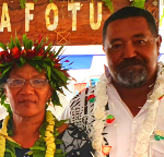 Ulu o Tokelau, Hon Fofo Tuisano and First Lady Maihe Tuisano copy-317