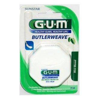 GUM Sunstar (Butler) Butlerweave Dental Floss