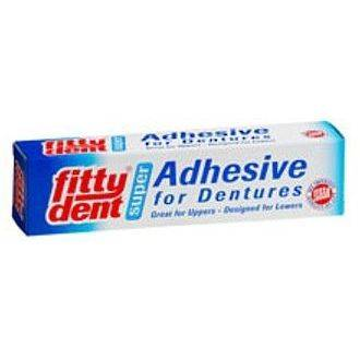Fittydent Super Hold Denture Adhesive 40g