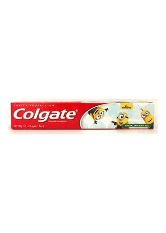 Colgate Minions Toothpaste Sparkling Mint Gel (ages 6+) 110g