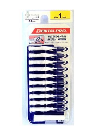 Dental Pro Jacks Interdental BrushSize 1 (XXS) White