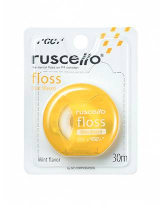 GC Ruscello Floss 30m Mint Waxed Yellow