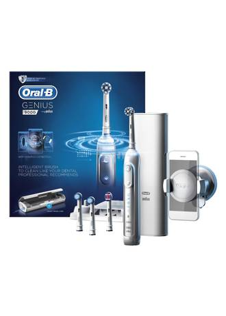 Oral-B Genius 9000 White Bluetooth Electric Toothbrush
