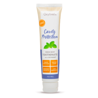 Oxyfresh Cavity Protection Fresh Mint Toothpaste Fluoride Formula with Oxygene 142g