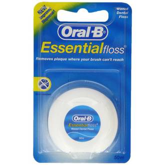 Oral-B Essential Floss Waxed Floss 50m