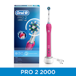 Oral B PRO 2000 Electric Toothbrush Pink