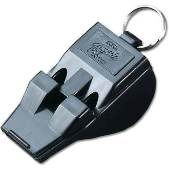Acme T2000 S.O.L.A.S. Tornado Pealess Whistle - Black