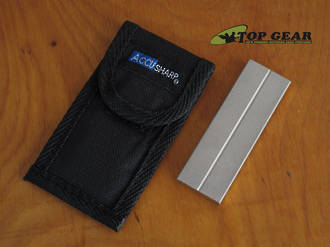 Accusharp Dual-Sided Diamond Pocket Sharpener - 00027