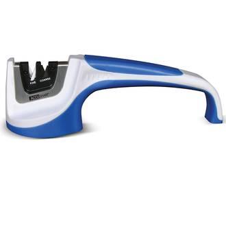 Accusharp Pull-Through Commercial Grade Knife Sharpener, White/Blue - 00036