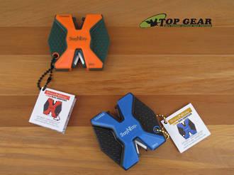 Accusharp Sharp-N-Easy 2 Step Knife Sharpener - Blue or Orange