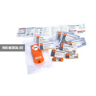 Aide Void Waterproof First Aid Kit for Single Person - VOID