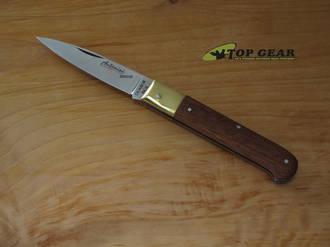 Antonini Knives Caltagironi Pocket Knife, Wood Handle - 917-20