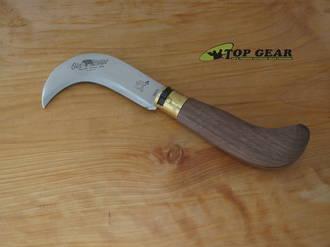 Antonini Knives Old Bear Pruning Knife, Walnut Handle - 9747-21_LN