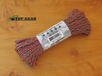 Atwood Rope Manufacturing 550 Paracord Rope, Lava - 55149