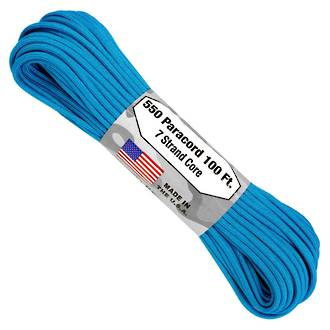 Atwood Rope Manufacturing 550 Paracord Rope, Blue - 55001