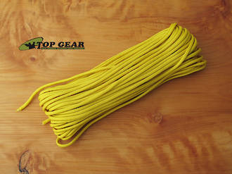 Marbles 550 Paracord Rope, Yellow RG1081H