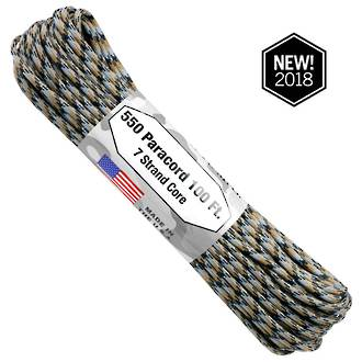 Atwood Rope Manufacturing 550 Paracord Rope, Cobra Camo 75577