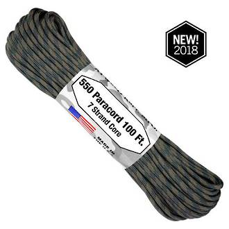 Atwood Rope Manufacturing 550 Paracord Rope, Code Talker Camo 75578