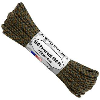 Atwood Rope Manufacturing 550 Paracord, Ambush, 100 ft Pack - 37366