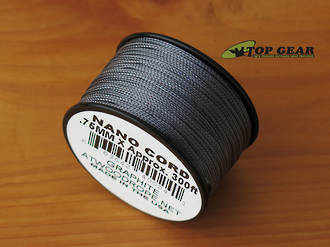 Atwood Rope Manufacturing Nano Cord - Graphite Grey 40024