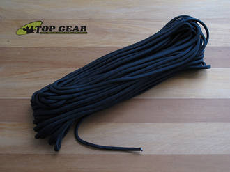 Atwood Rope Manufacturing Paracord 550 Rope Black, 30 m Pack - RG101H