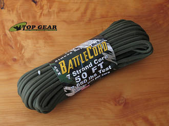 Atwood Rope Manufacturing War Ready Arm Battle Cord - Olive Green
