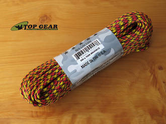 Atwood Rope Manufacturing 550 Paracord Rope - Marines 55157