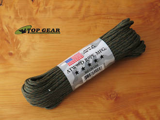 Atwood Rope Manufacturing 550 Paracord Rope - Wetland Camo 55053
