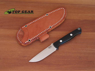 Bark River Bravo EDC Knife with Canvas Micarta Handle - 07-007M-BC