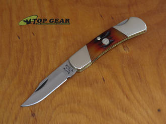 Bear & Son Lockback Knife with Stag Bone Handle - CRSB26