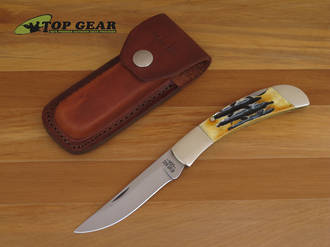 Bear & Son Stag Slimline Hunter Knife with Stag Handle - 562