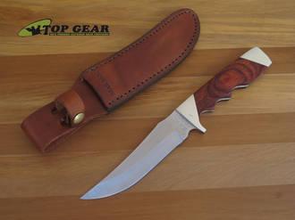 Bear & Son Rosewood Trophy Hunter Knife - 277R