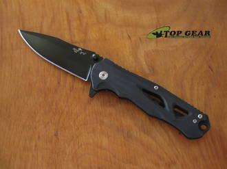 Bear Ops Rancor II Flipper Pocket Knife, CPM-S30V Stainless Steel - MC-400-B4-B