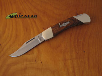 "Bear and Son Cutlery 3.75"" Knife - Desert Iron Wood K205E"
