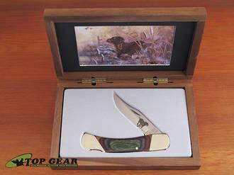 "Bear and Son Wildlife Series 5"" Lockback Knife - Chocolate Labrador S297NCL"