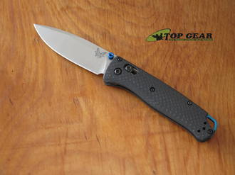 Benchmade Bugout Carbon Black Folding Knife, S90V Stainless Steel, Carbon Handle - 535-3