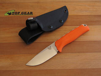 Benchmade Steep Country Hunting Knife, Orange Handle - 15008-ORG