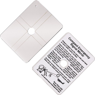 Best Glide Compact Emergency Signal Mirror - SN1381/BG ASE