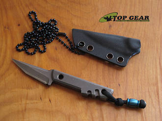 Boker Plus Mini Slik Tanto Neck Knife - 02BO230