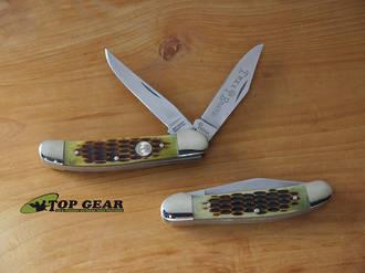 Boker Tree Brand Jigged Bone Copperhead Knife - 110723