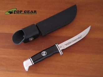 Buck 118 Personal Hunting Knife, Boone & Crockett Club - 118BRSBC-B