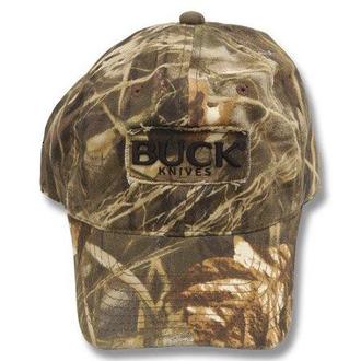 Buck 89052 Adjustable Logo Cap, Realtree Max-4 Camo - 89052