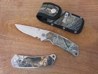 Buck Alpha Folding Hunter Knife Camo - 279CMSBHD-B