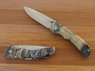 Buck Bantam BBW Folding Lockback Knife,  Mossy Oak Camo - 284CMS-B