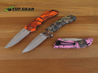 Buck Bantam BHW Lockback Knife - Camo