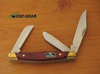 Buck Stockman Knife with Rosewood Handle - 301RWS-B